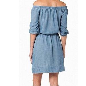 Calvin Klein Dresses - 🆕 Calvin Klein • Chambray Dress